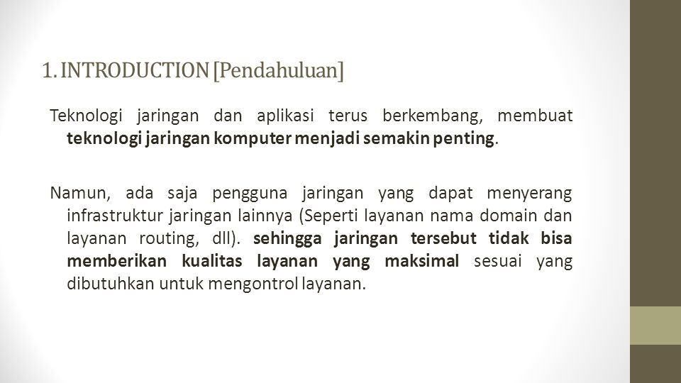 1. INTRODUCTION [Pendahuluan]
